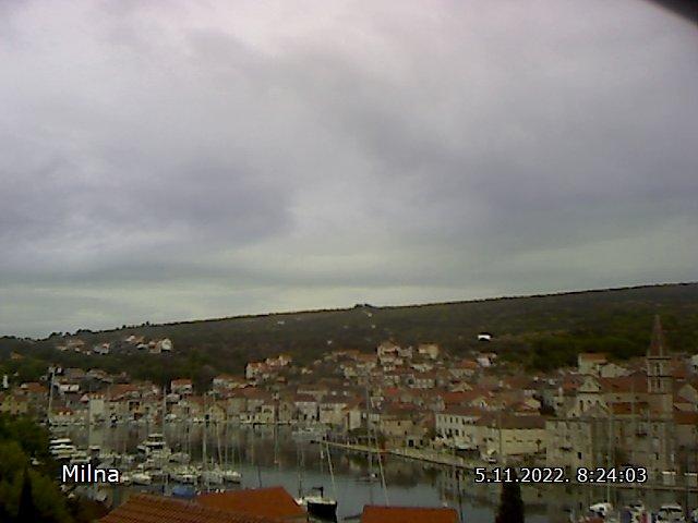 Web kamera - Milna (Brač)
